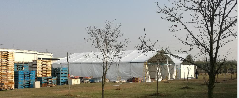 南京长安福特马自达发动机有限公司仓储篷房(物流帐篷)交付