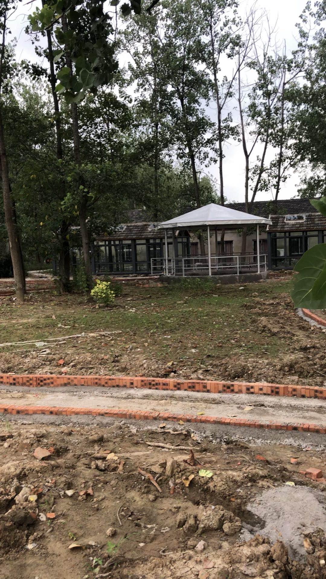 合肥马场(马术基地)10边形篷房搭建完成